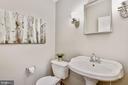Half bath on main level - 42944 DEER CHASE PL, ASHBURN