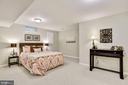 Lower level den/study/guest room - 42944 DEER CHASE PL, ASHBURN