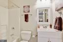 Lower level full bath - 42944 DEER CHASE PL, ASHBURN