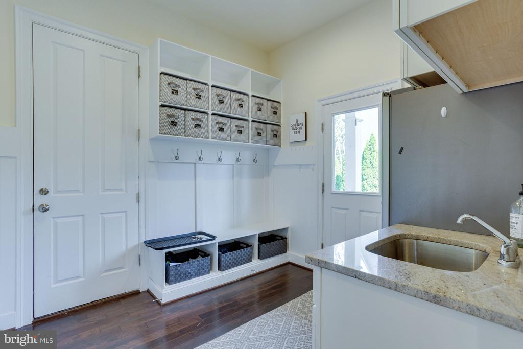 Free of clutter with a Mudroom & tones of storage. - 1709 BESLEY RD, VIENNA