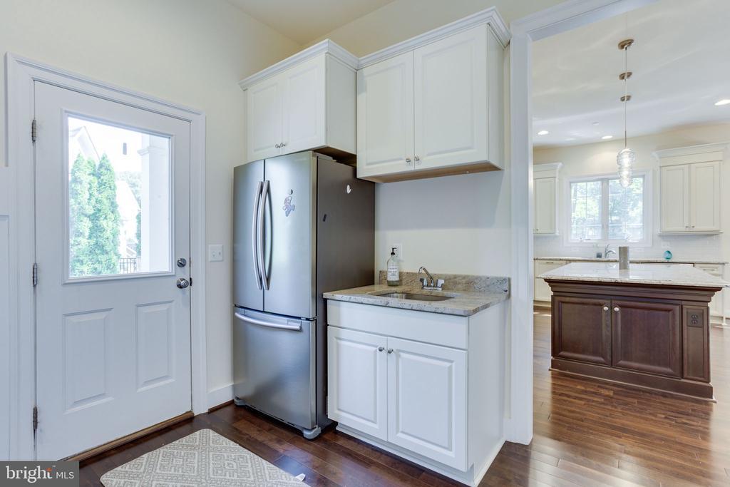 Second Refrigerator & utility sink. - 1709 BESLEY RD, VIENNA