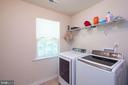 Upper Level Laundry - 17983 POSSUM POINT RD, DUMFRIES