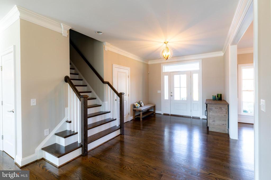 Gleaming Hardwood Flooring Throughout Main Level - 10605 SPRINGVALE LN, SPOTSYLVANIA