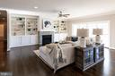 Beautiful Living Room w/ Built-ins and Fireplace - 10605 SPRINGVALE LN, SPOTSYLVANIA