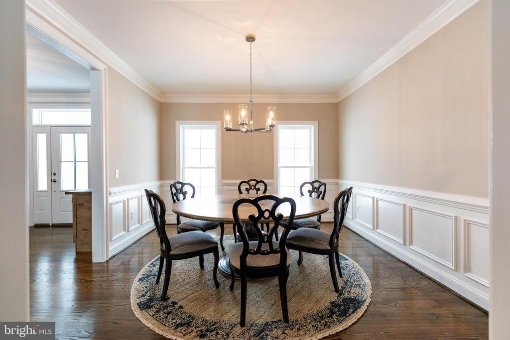 Large Formal Dining Room - 10605 SPRINGVALE LN, SPOTSYLVANIA
