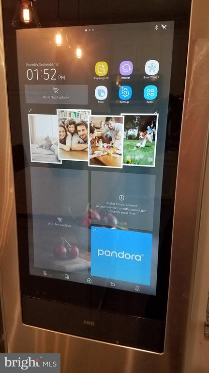 WIFI on Refrigerator for Internet, Music, Gallery - 5216 OLD MILL RD, ALEXANDRIA