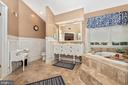 Luxury Master Bath - 5193 ALMERIA CT, MOUNT AIRY