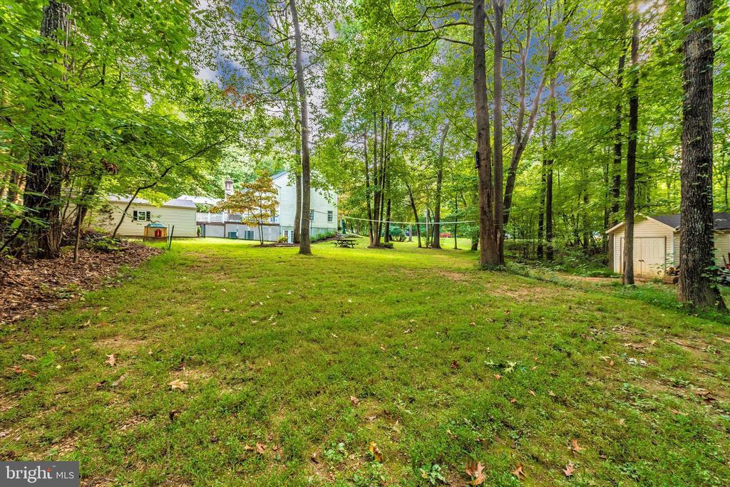 Large backyard - 5193 ALMERIA CT, MOUNT AIRY