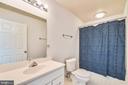 Full basement barthroom - 20969 PROMONTORY SQ, STERLING