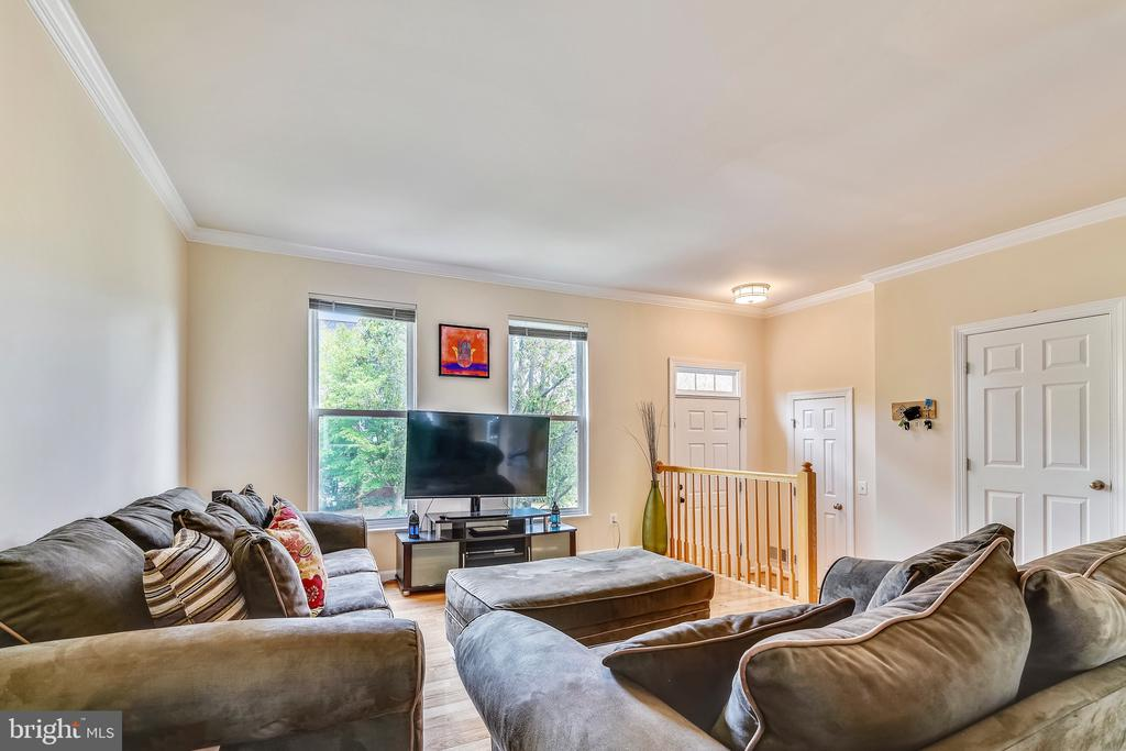 Living room - 20969 PROMONTORY SQ, STERLING