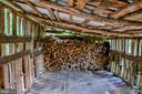 Wood shed - 16657 TREE CROPS LN, ROUND HILL