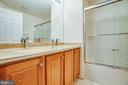 2nd level bath with dual sinks - 12 GABRIELS LN, FREDERICKSBURG