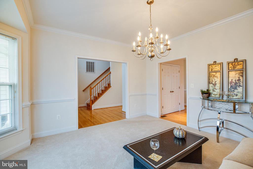 Flex Room - den, office or formal dining - 12 GABRIELS LN, FREDERICKSBURG