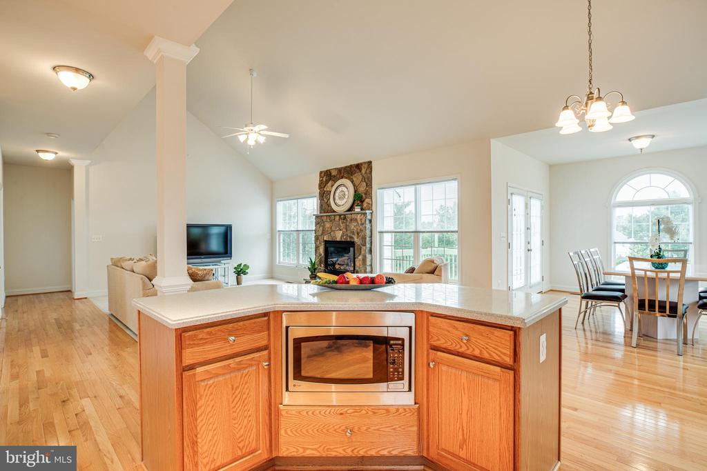 Never miss a thing while working in this Kitchen - 12 GABRIELS LN, FREDERICKSBURG