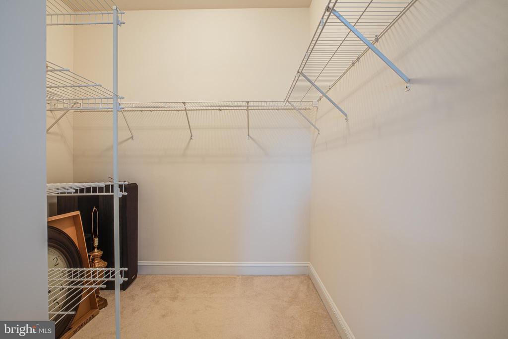 Master closet has plenty of storage - 12 GABRIELS LN, FREDERICKSBURG