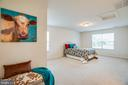 Large upper level Master Suite - 12 GABRIELS LN, FREDERICKSBURG