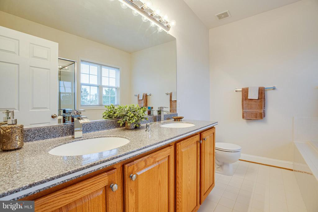 Solid surface double sink counter tops - 12 GABRIELS LN, FREDERICKSBURG