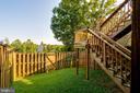 Fully fenced back yard - 15085 GALAPAGOS PL, WOODBRIDGE