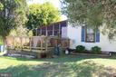 Exterior - Deck View - 7643 CHESTNUT ST, MANASSAS