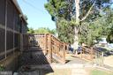 Exterior - Screened in Porch Access - 7643 CHESTNUT ST, MANASSAS