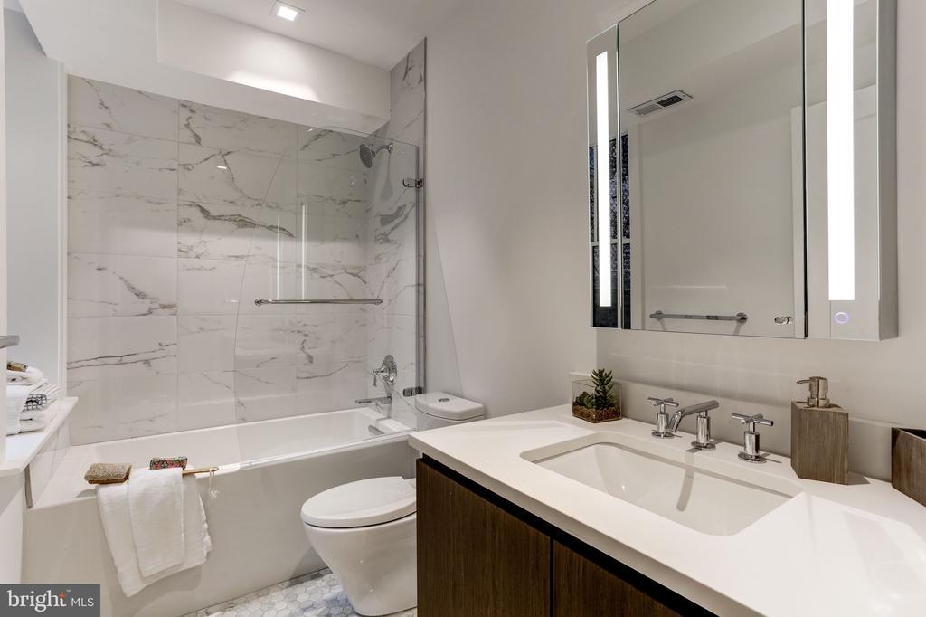 Second Floor Bathroom - 651 MARYLAND AVE NE, WASHINGTON