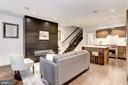 Garden Level Living Room. - 651 MARYLAND AVE NE, WASHINGTON