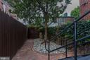 Rear outdoor area - 651 MARYLAND AVE NE, WASHINGTON