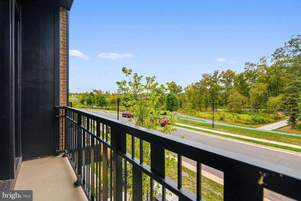 Balcony overlooking the Park - 20384 NORTHPARK DR, ASHBURN