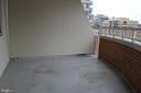 Balcony - 900 N TAYLOR ST #709, ARLINGTON