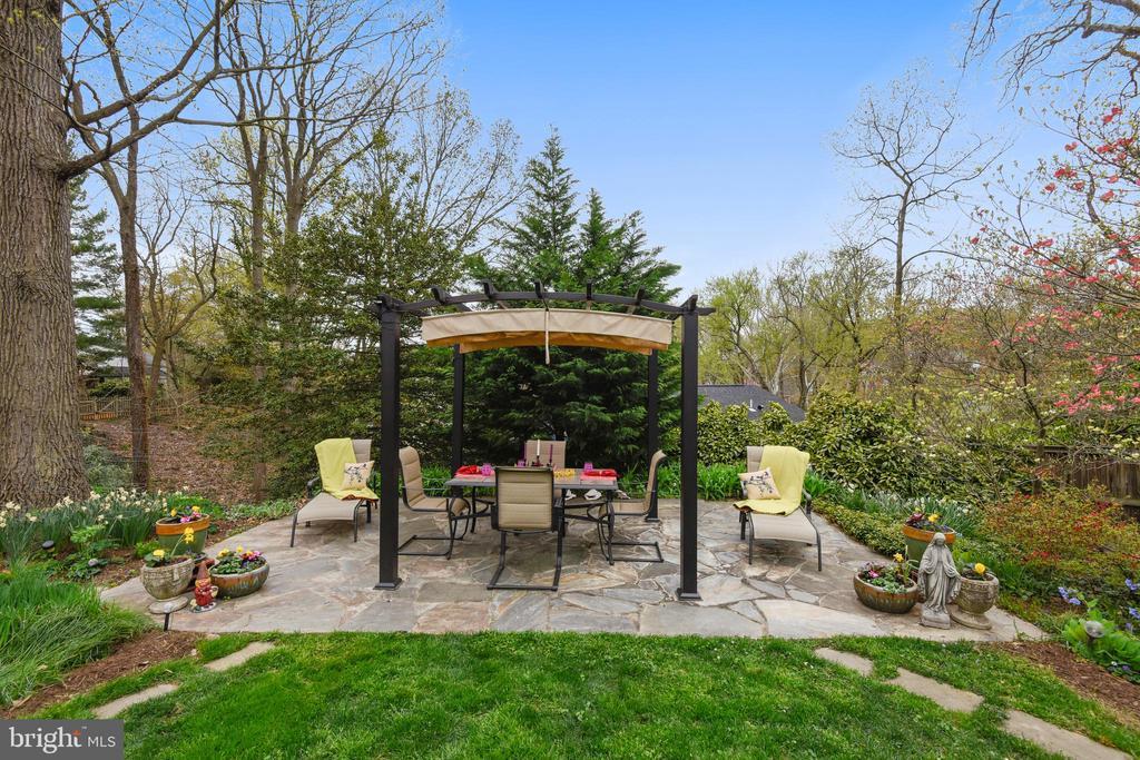 Wonderful outdoor spaces! - 912 W BRADDOCK RD, ALEXANDRIA
