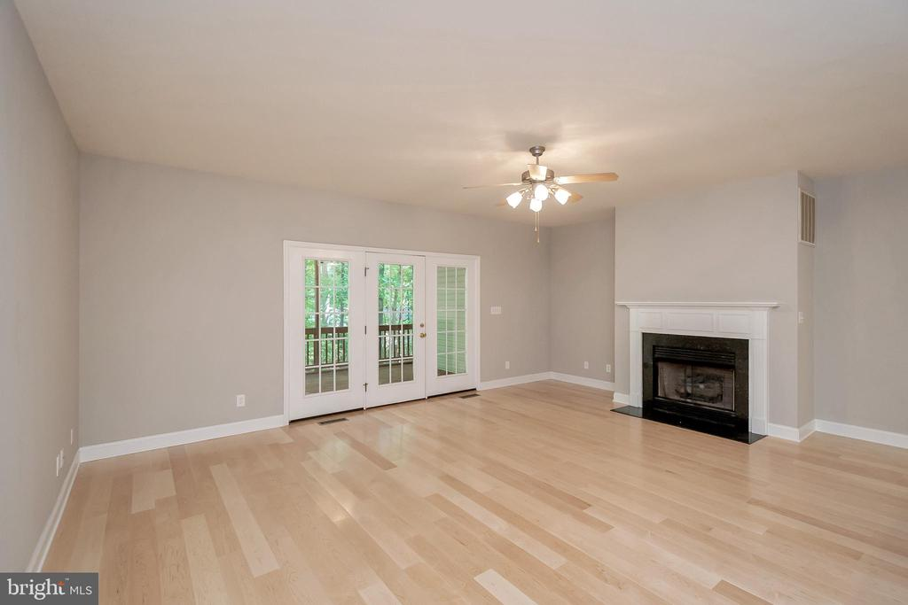 Cozy up by the fireplace - 308 WILDERNESS DR, LOCUST GROVE