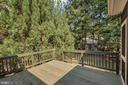 Deck off the screened porch - 308 WILDERNESS DR, LOCUST GROVE