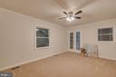 Fresh paint and new carpets in the master suite - 145 HARRISON CIR, LOCUST GROVE