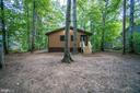 Large wooded lot creates wonderful privacy - 145 HARRISON CIR, LOCUST GROVE