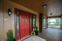 Beautiful porch perfect for coffee in the morning - 145 HARRISON CIR, LOCUST GROVE