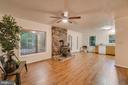 Tons of space in the great room - 145 HARRISON CIR, LOCUST GROVE