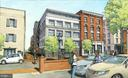 Rendering from Union Street - 225 STRAND ST #304, ALEXANDRIA