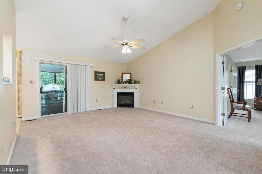 Large Family Room W/ Lovely Gas Fireplace - 3612 E GLEN DOWER DR, FREDERICKSBURG