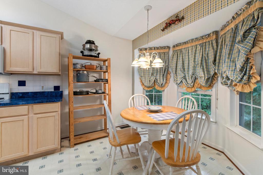 Breakfast Room Adjoining  the Kitchen - 3612 E GLEN DOWER DR, FREDERICKSBURG