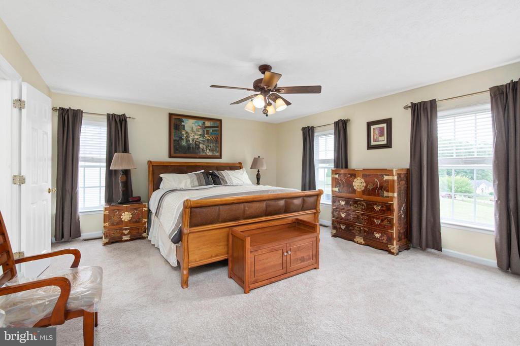 Stunning Master Bedroom - 3612 E GLEN DOWER DR, FREDERICKSBURG