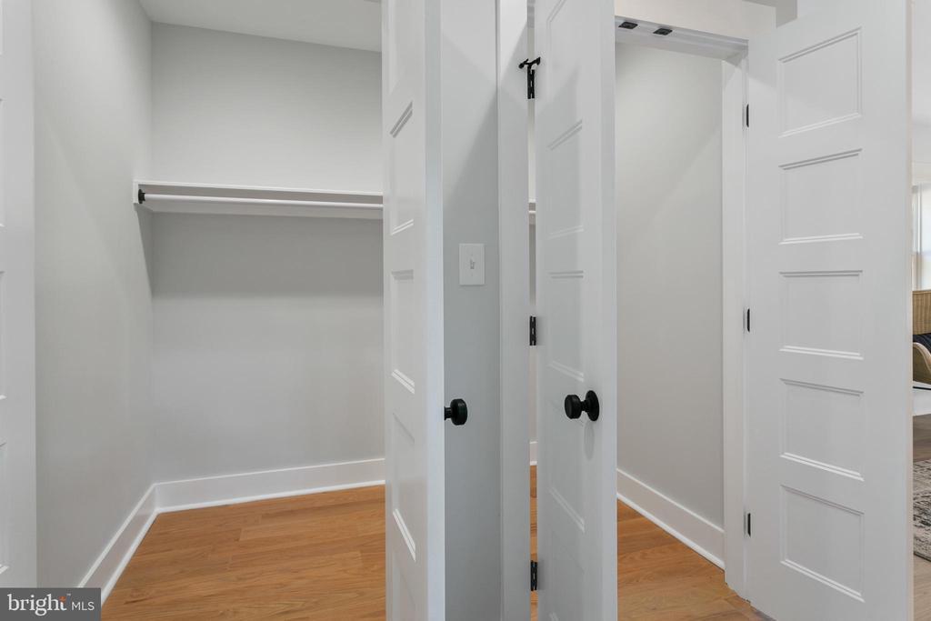 Walk-In Closet - 1511 FOXHALL RD NW, WASHINGTON