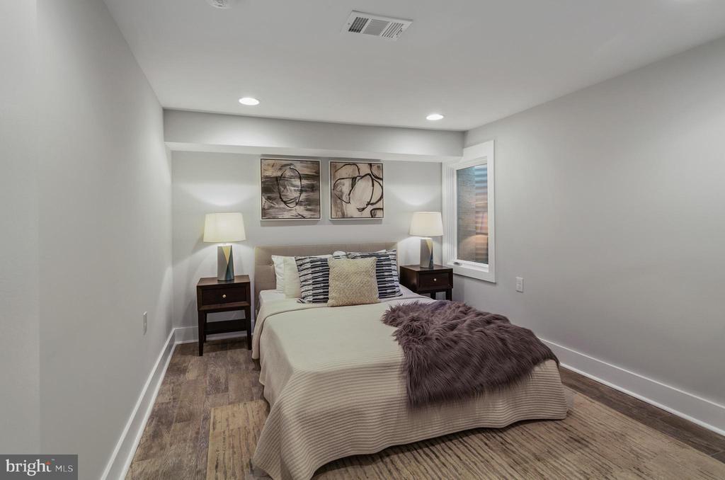 Lower Level Bedroom - 1511 FOXHALL RD NW, WASHINGTON