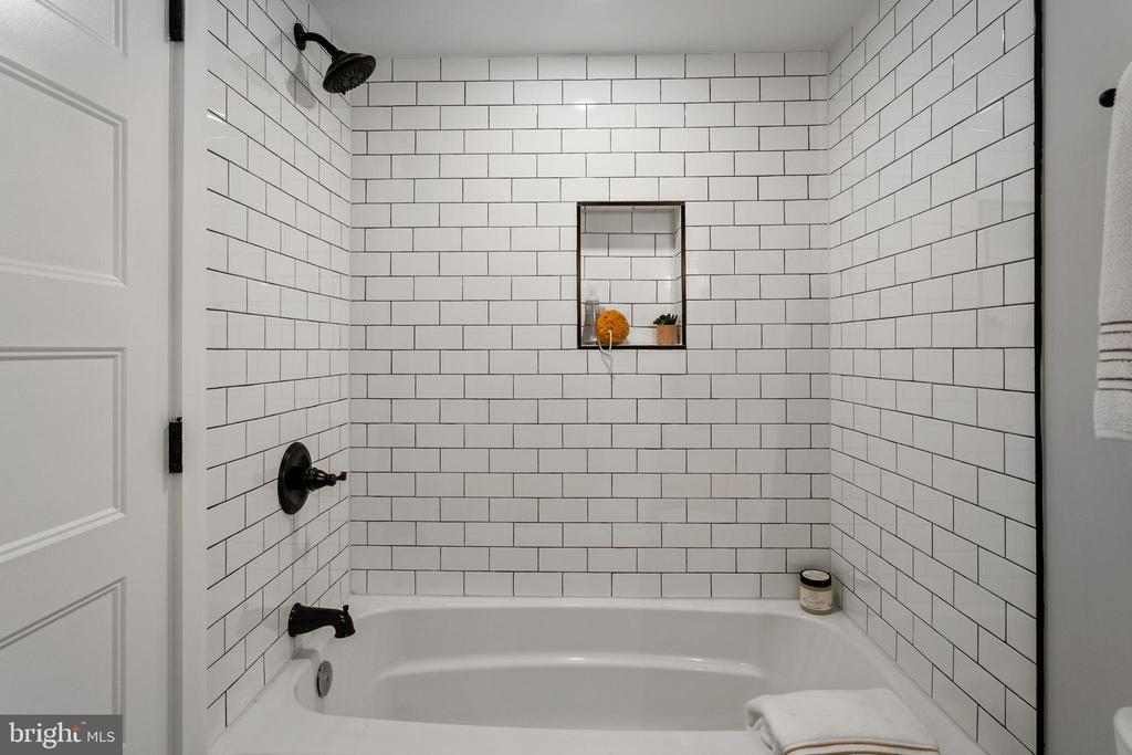 Lower Level Bathroom - 1511 FOXHALL RD NW, WASHINGTON