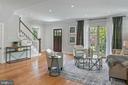 Living Room - 1511 FOXHALL RD NW, WASHINGTON