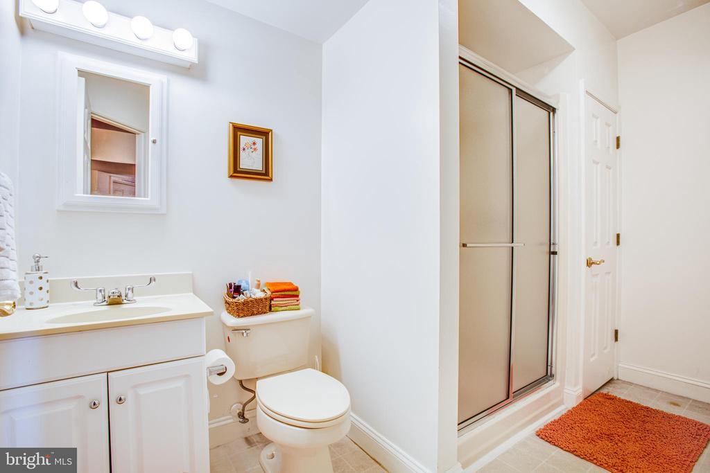 Lower level full bath - 11404 SEYMOUR LN, SPOTSYLVANIA