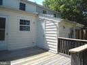 Rear Deck and storage shed - 3814 PORT HOPE PT, TRIANGLE