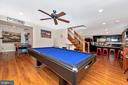 Lower Level Game Room - 5193 ALMERIA CT, MOUNT AIRY