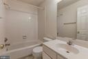 Upper Level Hall Bath - 13002 LIMESTONE CT, CLIFTON