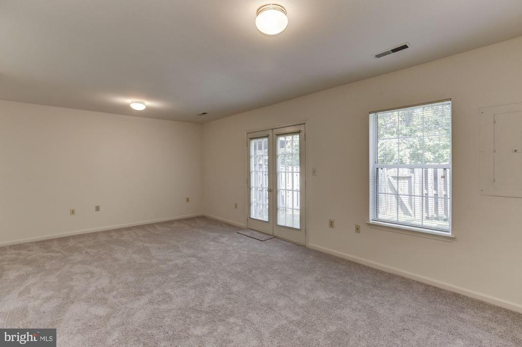 Lower Level Rec Room - 13002 LIMESTONE CT, CLIFTON