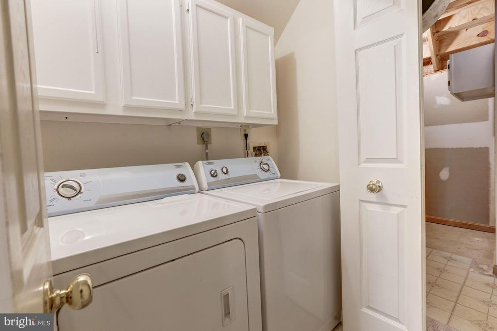 Laundry Room - 13002 LIMESTONE CT, CLIFTON